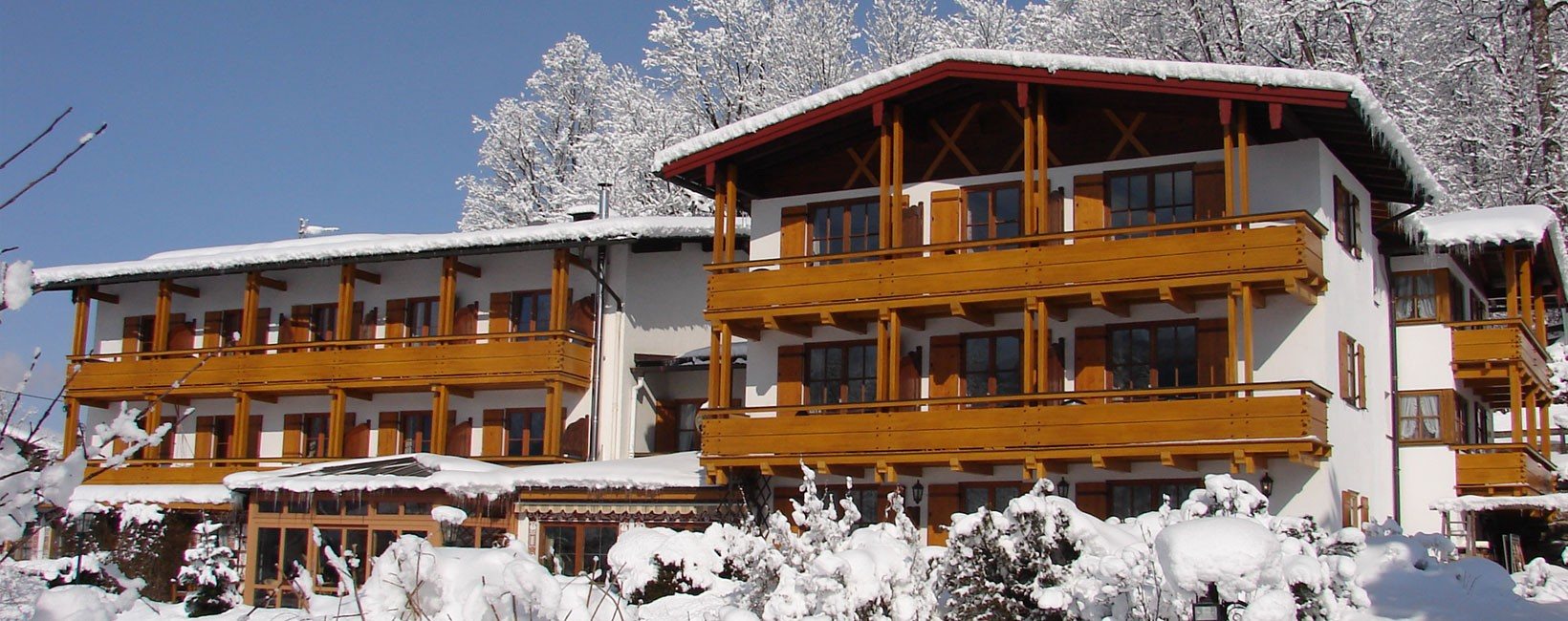 Hotel Georgenhof im Winter