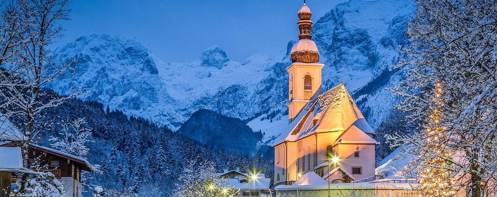 Gastgeber in den 5 Orten in Berchtesgaden - Winter