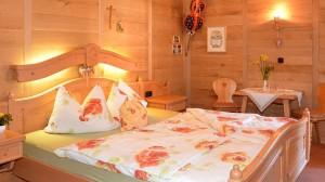Zimmer 1 Schlafzimmer in der Pension Nestle