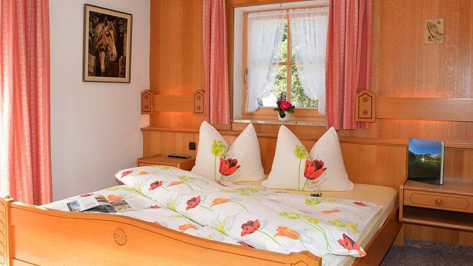 Zimmer 5 Schlafzimmer in der Pension Nestle
