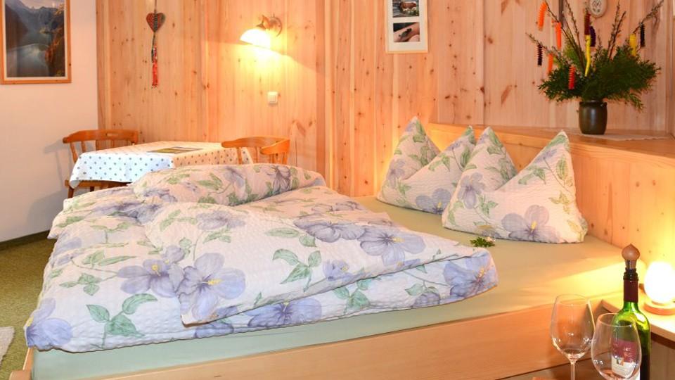 Zimmer 6 Schlafzimmer in der Pension Nestle