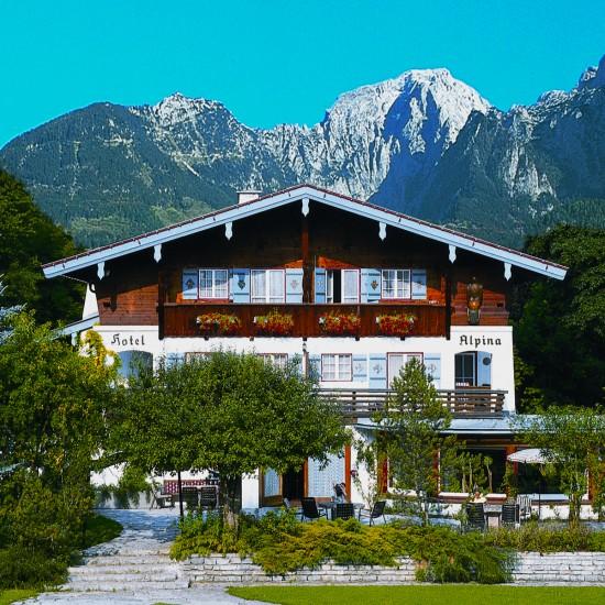 Stoll's Hotel Alpina Haupthaus