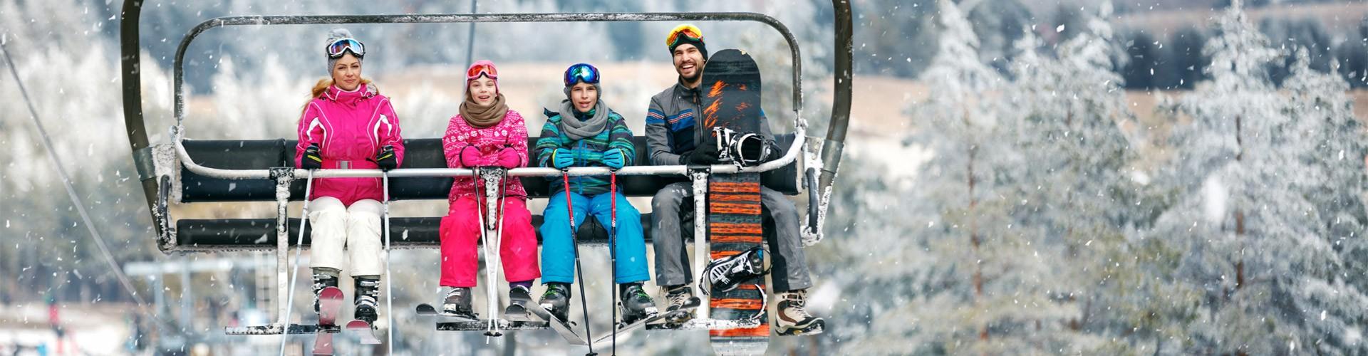 Skifahren mit der Familie in Berchtesgaden