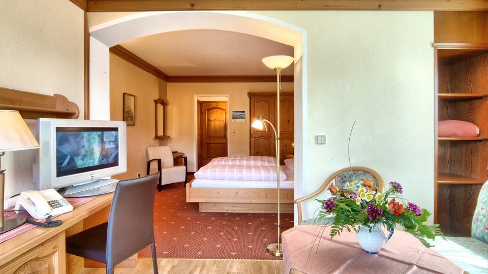 Doppelzimmer Appartement mit Dusche - Hotel Georgenhof