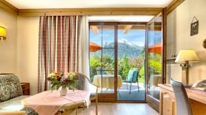 Doppelzimmer Appartement mit Dusche & Terrasse - Hotel Georgenhof