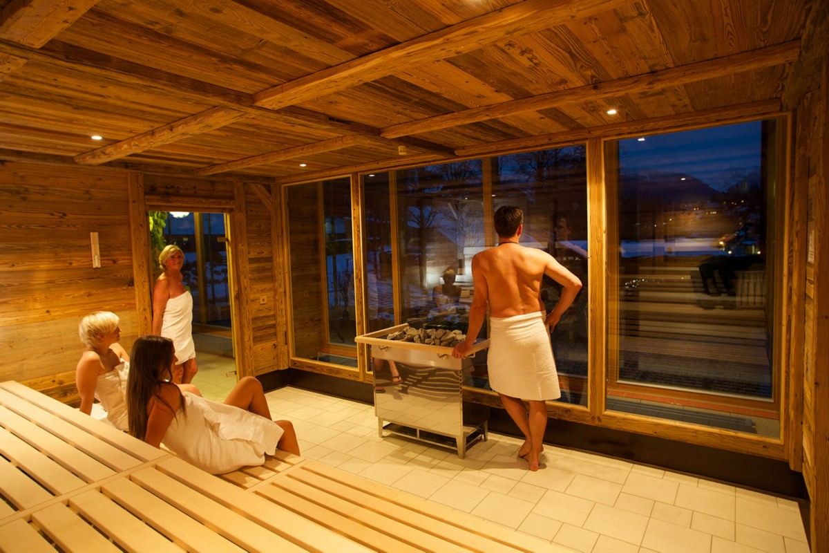 Sauna in der Watzmann Therme